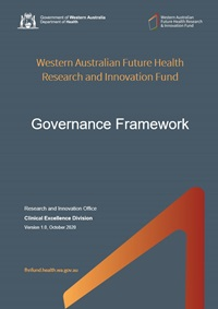 FHRI Fund Governance Framework v1-0 - cover