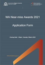 WANMA Application Form cover page